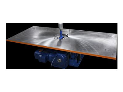 Rectangular Rotary Table Tool Plate