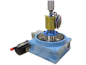 rotary index table with slip ring